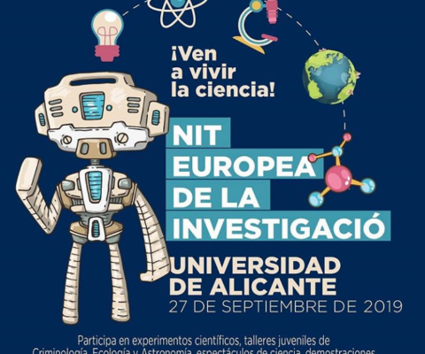 Nit Europea de los Investicaciò – University of Alicante