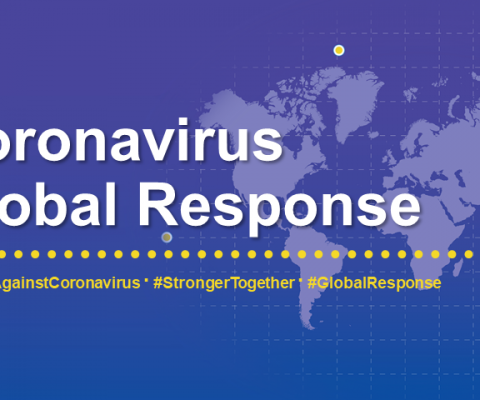 Support the coronavirus global response effort